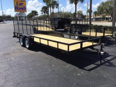 2019 Triple Crown 7X20 Utility Utility Trailers Fort Pierce, FL