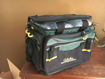 Cabela's Advanced Anglers tackle box Large
