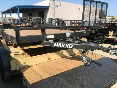 "2019 MAXXD TRAILERS 16' X 83"" ANGLE CAR HAULER Equipment Trailer Trailers Elk Grove, CA"