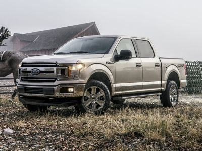 2018 Ford F-150 Lariat (White)