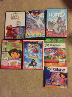 Kids Movies and LeapPad Games