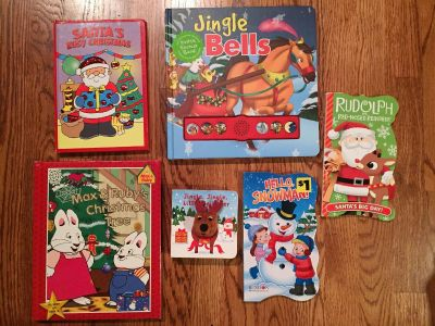 Christmas board book lot