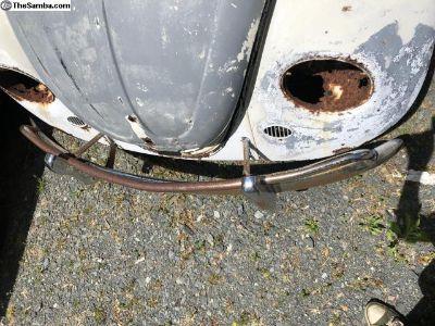 1967-Earlier Type 1 Beetle Front Bumper
