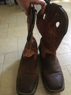 Men s Durango Leather Heeled Boot