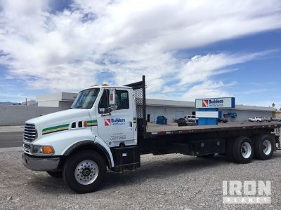 2005 Sterling LT9500 T/A Flatbed Truck