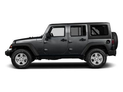 2017 Jeep Wrangler Unlimited Sport (Granite Crystal Metallic Clearcoat)