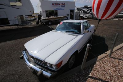 1986 Mercedes Benz 560SL Convertible