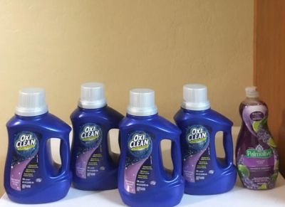 Oxi Clean Lavender 40oz $12 for all!