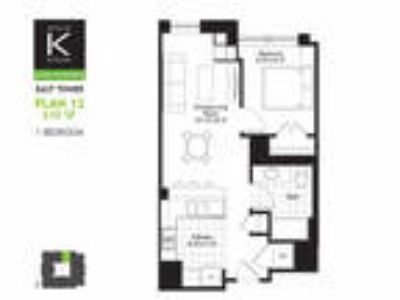Alta at K Station - East Tower - One BR - Plan 12