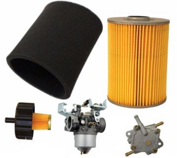 Purchase YAMAHA G2 G9 G11 4 CYCLE 85-94 GAS GOLF CART TUNE UP KIT W/ CARBURETOR FUEL PUMP motorcycle in Lapeer, Michigan, United States, for US $133.55
