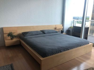 Discontinued IKEA King Malm Bed