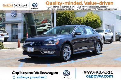 2013 Volkswagen Passat TDI SE (Night Blue Metallic)