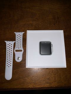 Brand new series 2 Apple Watch 42mm aluminum with watch band