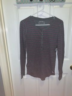 Eddie Bauer Long Sleeve Shirt Womens