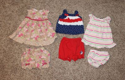 6 - 9 Months Summer Outfits