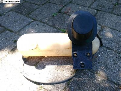 VW Bus Washer Bottle Assembly with Cap and Bracket