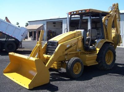 Caterpillar 416C Backhoe with Extendahoe