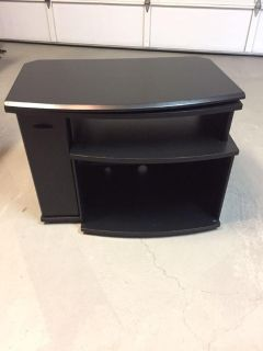 Small black tv stand or microwave stand