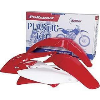 Purchase POLISPORT OE PLASTIC KIT 04-07 CR125 CR250 CR FENDERS SHROUDS SIDE COVERS motorcycle in Maumee, Ohio, United States, for US $99.98
