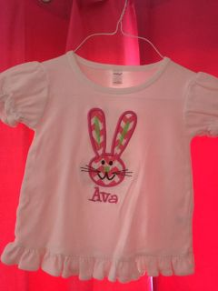 Personalized Ava Bunny Top