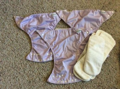 FuzziBunz Cloth Diapers and Inserts