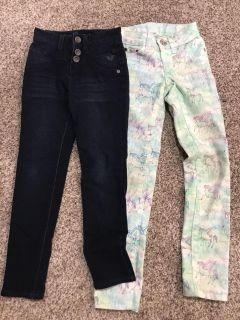 Justice Sz 7S like NEW jeans