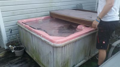 FREE *TODAY* -- Hot Tub