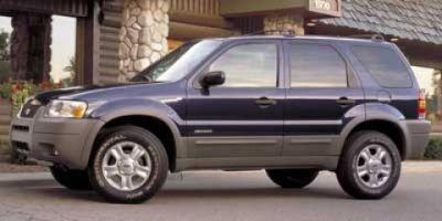 2002 Ford Escape XLS (Silver)