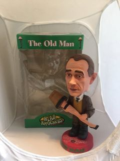 """New """"The Old Man"""" Bobble Head - """"A Christmas Story"""" by Neca Head Knockers"""