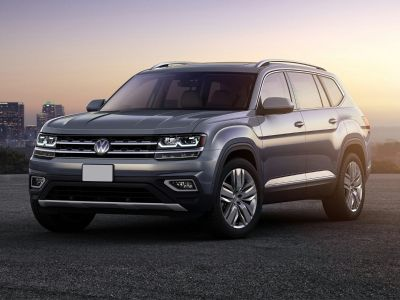 2019 Volkswagen Atlas S (Pure White)