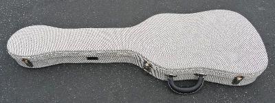 Fender TELECASTER THERMOMETER CASE - Black Tweed W/ Black Poodle Interior - BRAND NEW