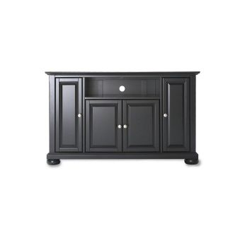 Crosley Alexandria 48-Inch TV Stand in Black-NEW and Assembled
