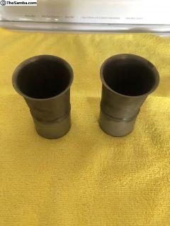 Weber DCOE carburetor Air intake horns