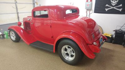 1932 Ford 3 Window Coupe