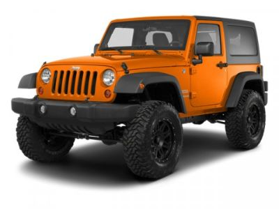 2013 Jeep Wrangler Rubicon (Commando Green)