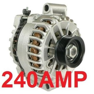 Purchase 240 HIGH AMP NEW Shelby ALTERNATOR Generator FORD MUSTANG GT500 5.4L 2007 2008 motorcycle in San Mateo, California, US, for US $215.90