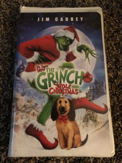How The Grinch Stole Christmas Universal VHS Tape