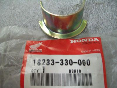 Purchase Genuine Honda Ex Pipe Joint Collar CB125 XL200 18233-330-000 NEW NOS motorcycle in Sandusky, Michigan, US, for US $8.99