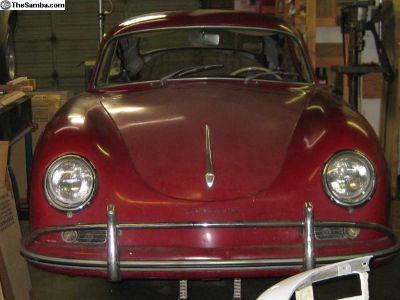 1958 Porsche 356A T2 Coupe - Original Paint CA Car