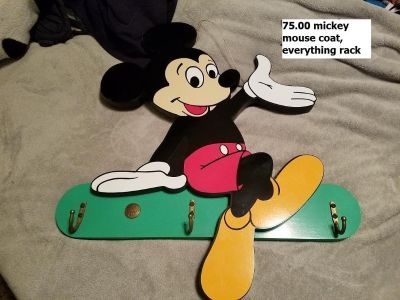 vintage mickey mouse rack