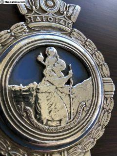 Vintage St. Christopher Badge - JR Gaunt, England