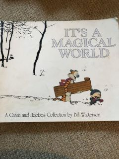 Calvin and Hobbes book