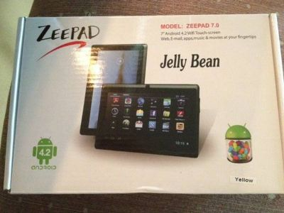 10-Piece Set Zeepad Google Android 4.2  4GB Dual-Camera 7 Tablet