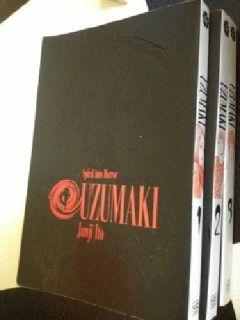 $15 Uzumaki manga volumes 1-3 (complete)