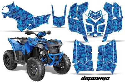 Sell Polaris Scrambler 850/1000 AMR Racing Graphic Kit Sticker ATV Quad Decal DCAMO B motorcycle in Las Vegas, Nevada, United States, for US $169.95