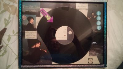 Tears For Fears 1982 Original 12 Inch Record Wall Art