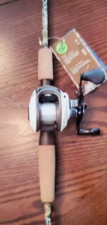 Lew's Tournament Series reel on 7' ML H2O Camo HD rod, spooled w/12lb. Big Game