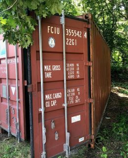 STEEL Storage Container perfect for boats, summer equipment, tools