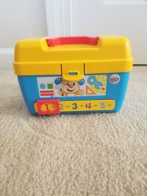 Fisher price smart stage tool box