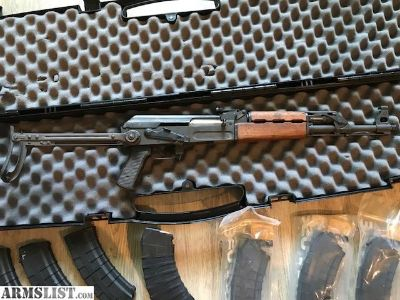 For Sale: American Tactical MILLED folding stock AK47 with extras